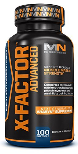 X-Factor Advanced (Arachidonic Acid; 825mg Anabolic Formula) by Molecular Nutrition