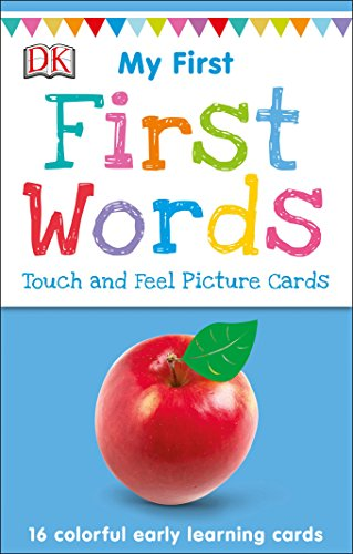 - My First Touch and Feel Picture Cards: First Words (My 1st T&F Picture Cards)