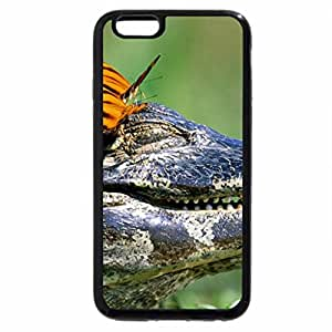 iPhone 6S / iPhone 6 Case (Black) butterfly kisses