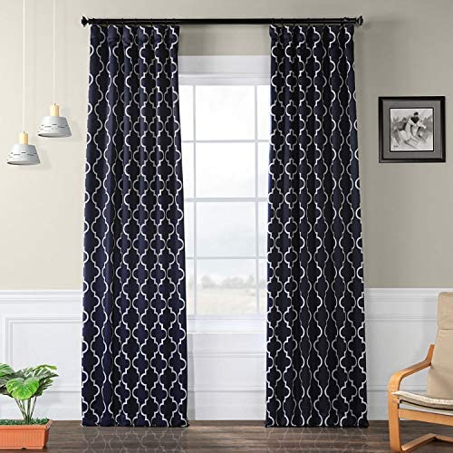 HPD Half Price Drapes BOCH-KC40F-120 Blackout Room Darkening Curtain 1 Panel