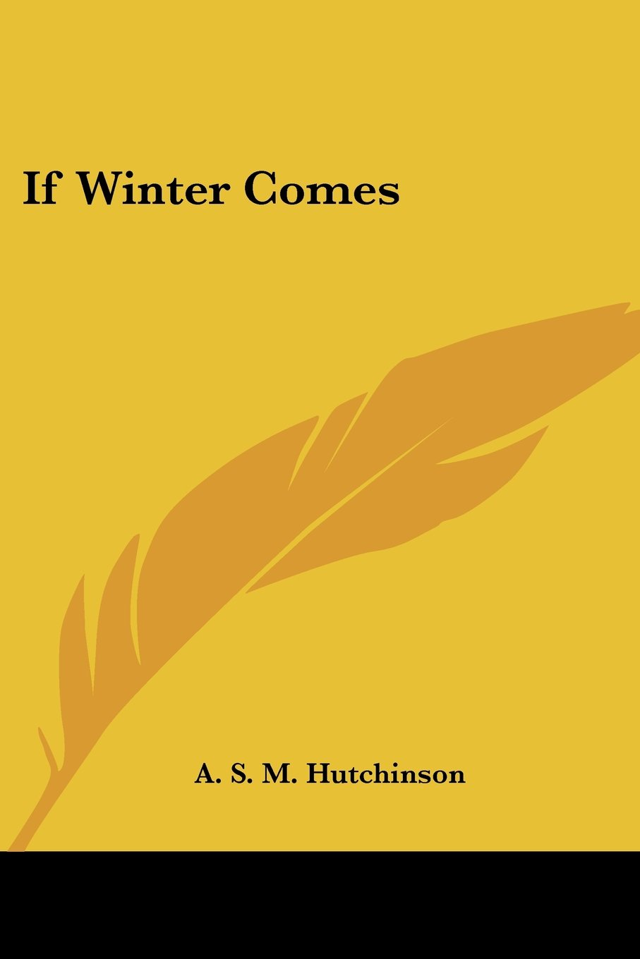 Download If Winter Comes PDF