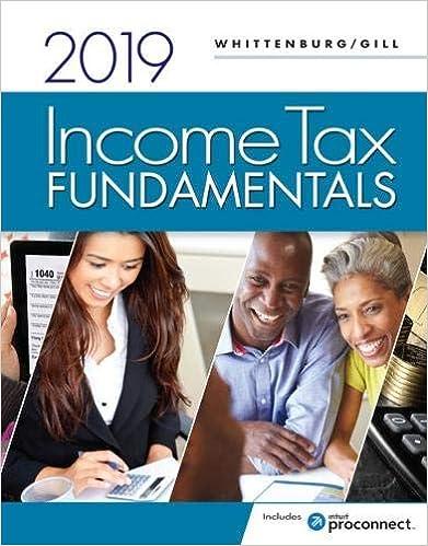 Income Tax Fundamentals 2019