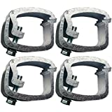 API AC104 Mounting Clamps for Truck Caps / Camper Shells (4 pack)