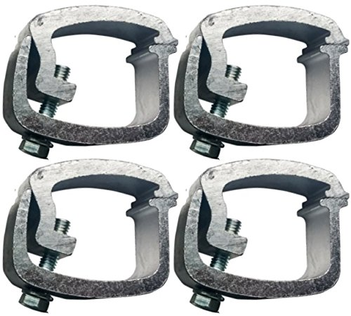 API AC104 Mounting Clamps for Truck Caps / Camper Shells (4 pack) Automated Products International