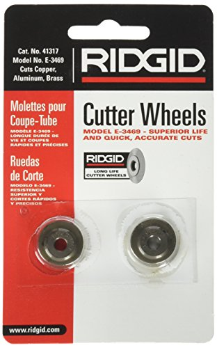 RIDGID 41317 Model E-3469 Tubing Cutter Replacement Wheel, Pipe Cutter Wheel by Ridgid