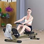 DAMAI-Vogatori-per-Casa-Sistema-Magnetico-Rowing-Machine-12-Livelli-di-Resistenza-E-Guida-di-Scorrimento-in-Alluminio-per-Fitness-Allenamento