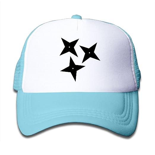 Amazon.com: YUI CAP Ninja Shuriken Star Funny Baby Snap Back ...