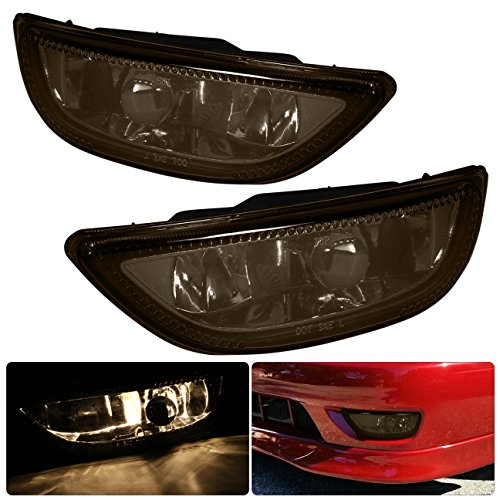 Corolla Toyota Jdm Vip Smoke Smoked Fog Light Lamp Lens Assembly Complete Kit Driving Front Bumper Conversion Harness Switch Lh Rh Pair Set