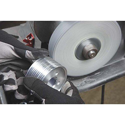 3M 64900 General Deburring Wheel - Max RPM: 6000, 6X1X1'', Grade: 9S FIN