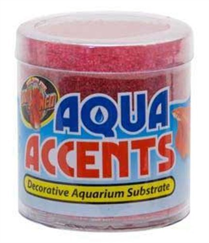 Zoo Med Laboratories Accents - Zoo Med Laboratories AZMBA6 Radical Red Sand, 1/2-Pound