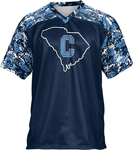 ProSphere Men's The Citadel College Digital Football Fan Jersey - Shopping Citadel