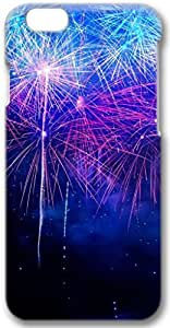 New Year Fireworks HD iPhone 6 plus Case, 3D Handmade Skin Case Cover for iPhone 6 plus 5.5 inch Screen