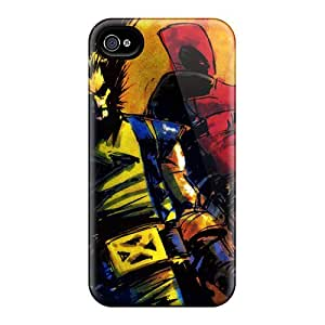 Iphone 6plus RAk13719bcur Allow Personal Design Attractive Deadpool I4 Pattern Bumper Cell-phone Hard Covers -LavernaCooney