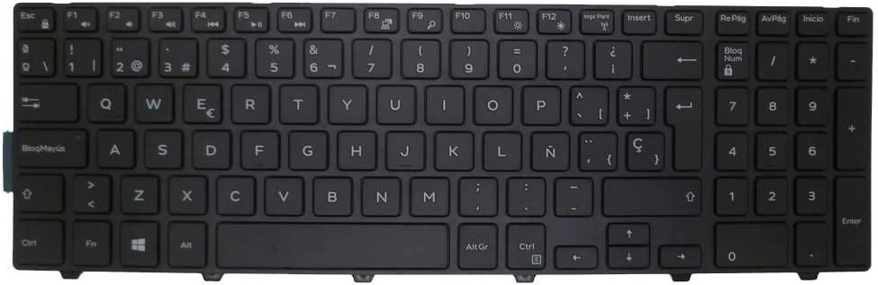 Laptop Keyboard for DELL for Inspiron 15 3541 3542 3543 5542 5545 5547 5551 5552 5555 5557 5558 5559 5759 7557 051CHY 51CHY NSK-LR0SC0S SP Spanish New