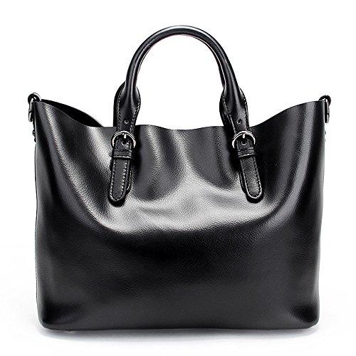 SHELAIDON Bags-8683-DE000 - Bolso de tela para mujer, dorado (Amarillo) - Bags-8683-DE003 Negro