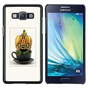 LECELL--Funda protectora / Cubierta / Piel For Samsung Galaxy A5 A5000 -- Extranjero calabaza de Halloween divertido --
