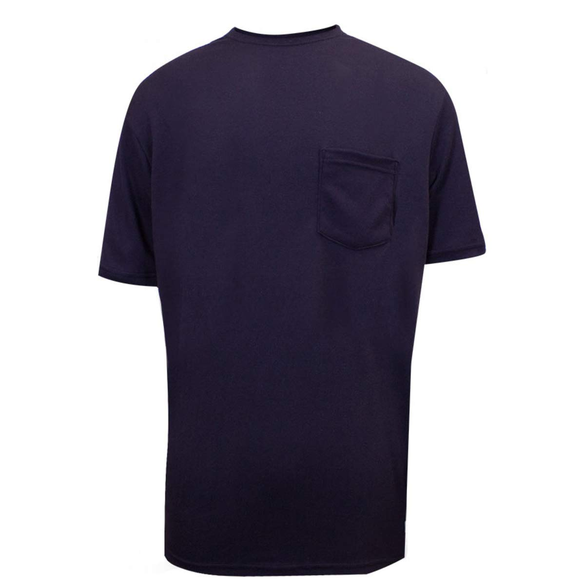 National Safety Apparel Small Navy Classic Cotton 12 cal/cm Flame Resistant T-Shirt by NATIONAL SAFETY APPAREL INC (Image #1)