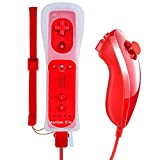 Lavuky WR02 Wii Remote Plus and Nunchuck Controller with Silicone Case and Wrist Strap -Red(3rd-Party Product) Review