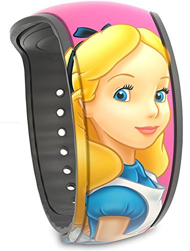 (Disney Parks Alice in Wonderland MagicBand 2 - Link It Later Magic Band)