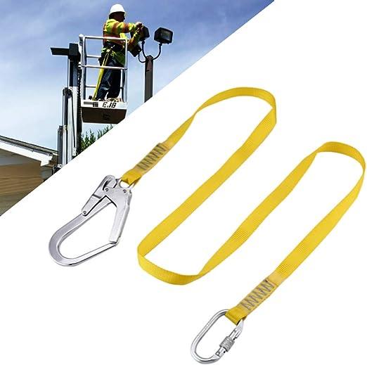 UBaymax Cordon de Seguridad,Cordon Cinturon de Escalada al Aire Libre,Cuerda de Proteccion contra Caidas con Grandes ...