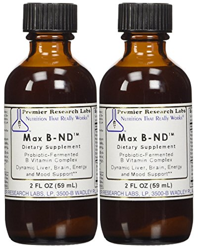 Premier Labs Max B Complex ND 6 Oz (3 - 2 Oz Bottles) by Premier Research by Quantum / Premier Research