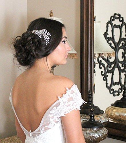 Amazon.com  Wedding headpiece 90fe003c8fe