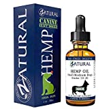 Hemp Oil for Dogs - Hemp Seed Oil - All Natural Support for Joints, Stress, Anxiety, and More (375mg)