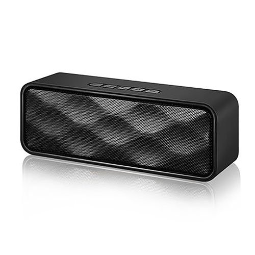 Portable Wireless Bluetooth Speakers with long Playtime Handsfree Calling FM Radio and TF Card Slot. Dual Driver Outdoor Indoor Bluetooth Speakers with Superior Sound and 1-YEAR WARRANTY (Black) (Best Light Cycle For Flowering)