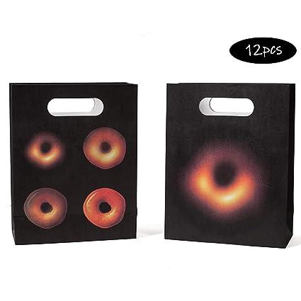 Amazon.com: Bolsas de regalo para fiestas, 12 bolsas con ...