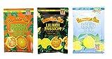 hawaii ice flavor - 3 Pack Hawaiian Sun Drink Mixes Make 1 Quart (Lilikoi Passion, Passion Orange, Sun Iced Tea)