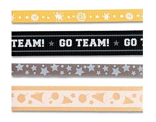 Karen Foster Design Craft Ribbon Trimmings, Cheer , 12 x 12