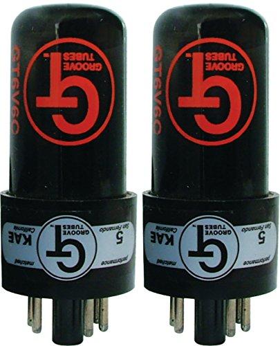 6V6 C Matched Pair, Groove Tubes (Groove 6v6 Tubes)