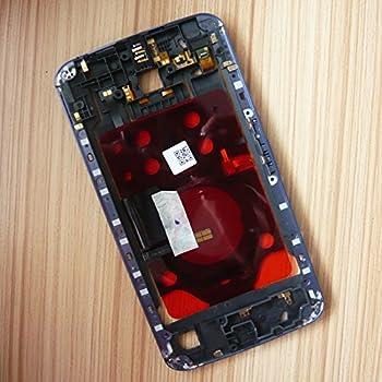 Dogxiong® Blue Back Middle Housing Bezel Frame Audio Port Volume Power Button Flex Cable For Motorola Google Nexus 6