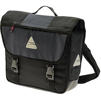 Axiom Rackbook Pro S Single Rear Pannier, Grey/Black