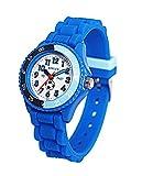 Reflex Time Teacher Blue Silicone Strap Boys /Girls Children Watch BM1