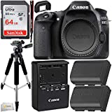Canon EOS 80D DSLR Camera With Promotional SanDisk Ultra 64GB SDXC Card