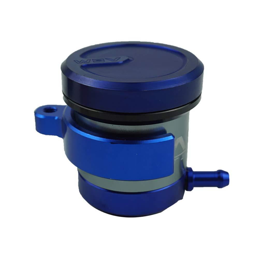 CNC Aluminium Universal Billet Vordere Bremskupplung Tank Motorrad Fl/üssigkeitsbeh/älter /Ölschale Cyclist store Farbe : Blau