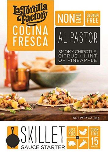 Orange Sauce Lime (Al Pastor Skillet Sauce Starter from La Tortilla Factory - Gluten-Free)