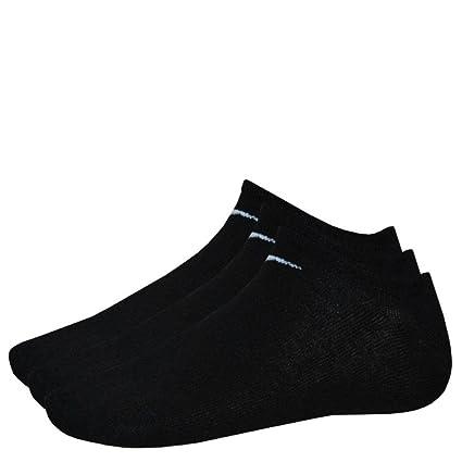 Nike 9 Pares de Calcetines Zapatillas Show Negro M (38 - 42 ...