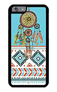 iZERCASE iPhone 6 PLUS Case Dream Catcher on Aztec Pattern RUBBER CASE - Fits iPhone 6 PLUS T-Mobile, Verizon, AT&T, Sprint and International