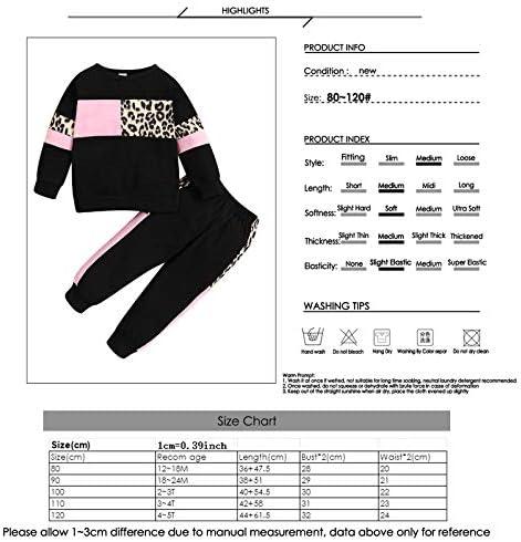 puseky Baby Girls Sunflower sudadera manga larga pantalones conjunto de trajes de ch/ándal