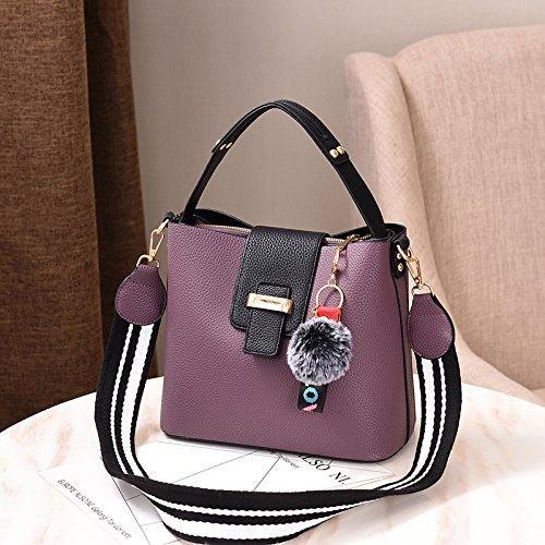 Seul Paquet Sac Sac Grand Un Est Fille Deep KLXEB Seau D'Épaule Sac Purple Sac La Un wyI8y4vq