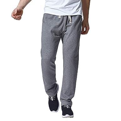 Danhjin - Pantalones de chándal para Hombre (elásticos, con ...