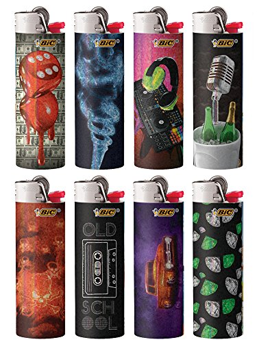 Hip Nation Series Lighters, 2018, Set of 8 Lighters ()