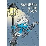 Puppy Postcard The Smurfs, Smurfin in The rain (10x15cm)