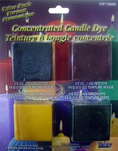 Yaley Enterprises Candle Crafting Candle Dye
