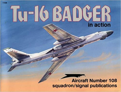 Tu-16 Badger in Action