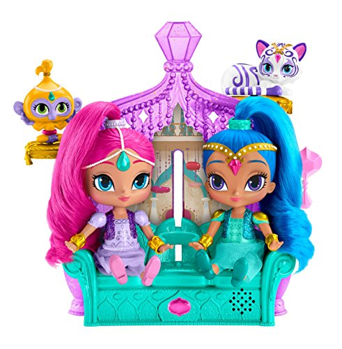 Fisher-Price Nickelodeon Shimmer & Shine, Float & Sing Palace Friends (Fisher Toys Girls For Price)