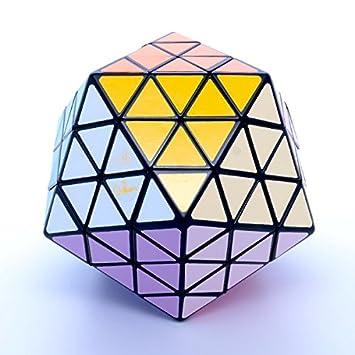 MF8 Oskar's Icosaix Black Icosahedron Face Turning Cube