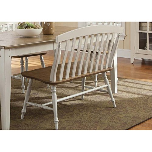 Back Slat Bench (Liberty Furniture 841-C9000B Al Fresco III Slat Back Bench, 42